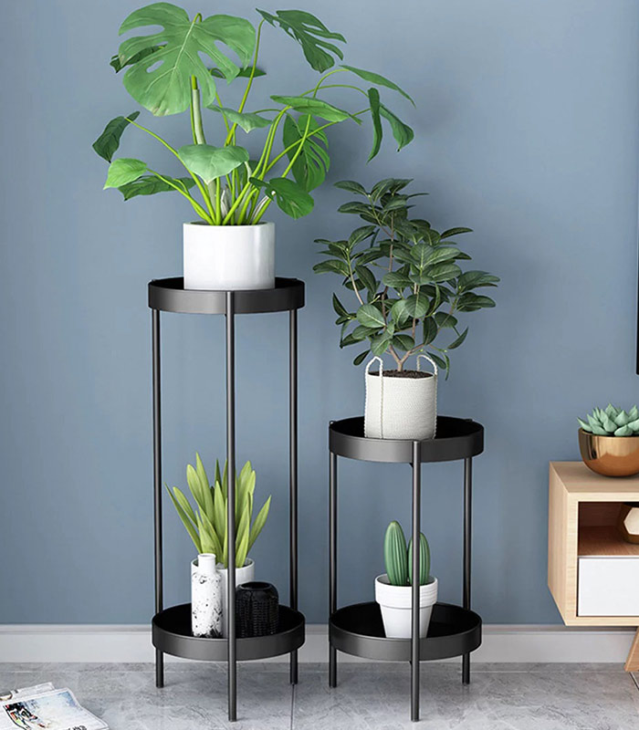 Elegant 2 layer small Metal Plant Stand best price in Bangladesh