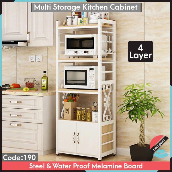 4 Layer Multi Storage Cabinet