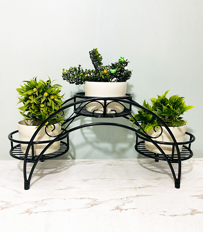 3 in 1 Stylish Indoor Plant Stand