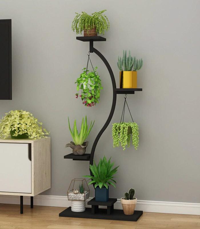 Premium Decorative Indoor Plant Stand - Long Lasting Automatic Powder Coating Heat paint