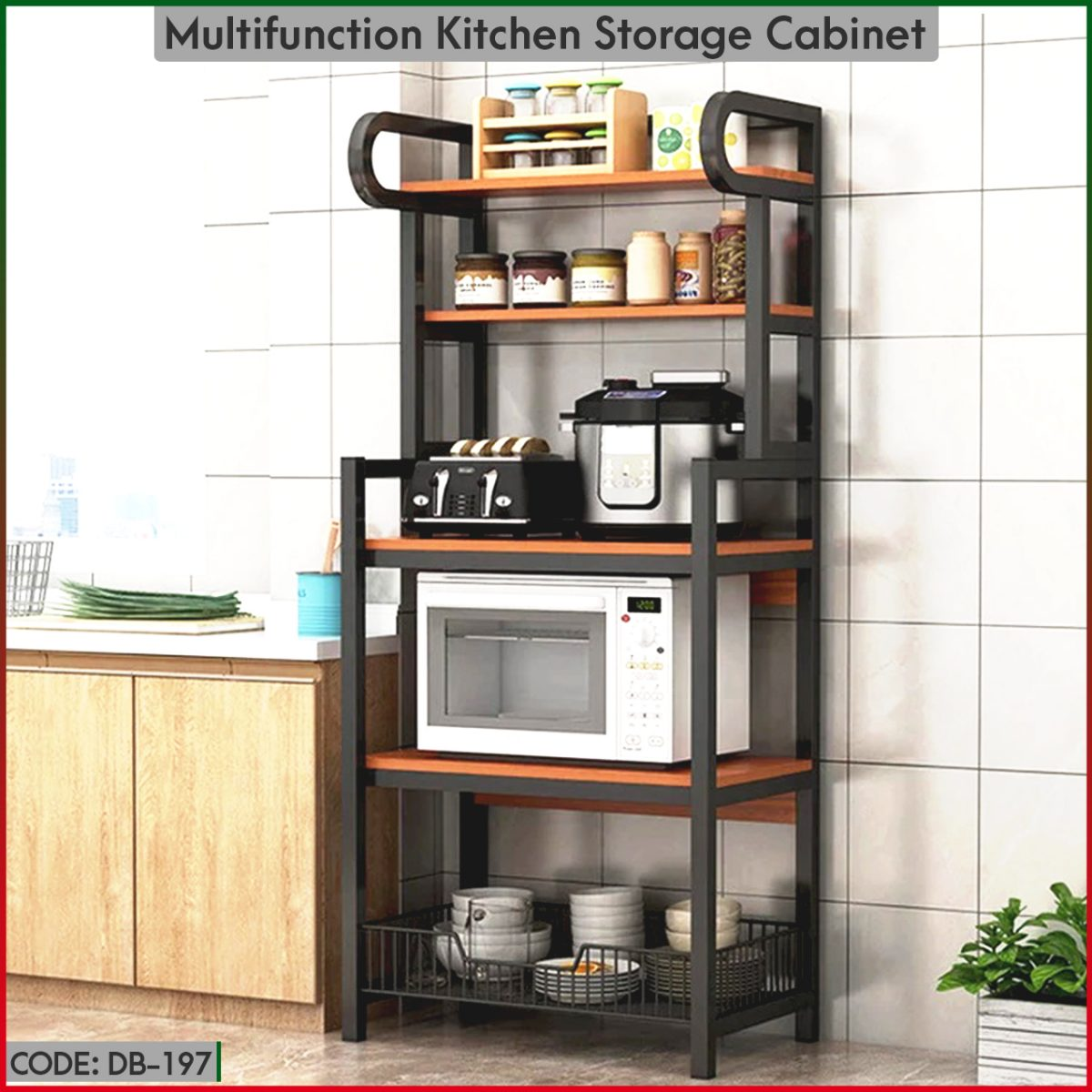 Buy premium quality Multi Storage Cabinet at the best cheapest price in Bangladesh, Order online or visit our Facebook page digitalbazar.com