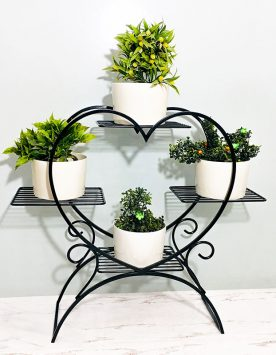 6 Layer Flower Shelf Love Style Indoor Plant Stand